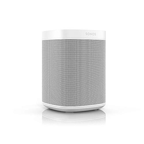 Sonos One Smart Speaker, weiß – Intelligenter WLAN Lautsprecher