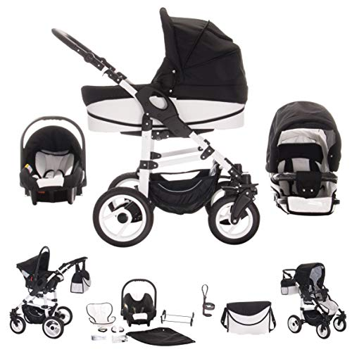Bebebi Paris | 3 in 1 Kinderwagen Komplettset |
