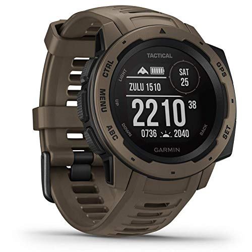 Garmin Instinct Tactical – sehr robuste Outdoor-Smartwatch