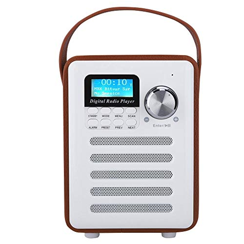Exliy Tragbares DAB-Digitalradio, Bluetooth-Funklautsprecher