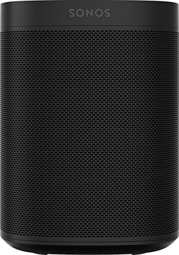 Sonos One Smart Speaker, schwarz – Intelligenter WLAN Lautsprecher