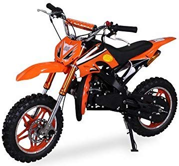Delta 49 cc 2-takt Kinder Mini Crossbike Pocket (Orange)