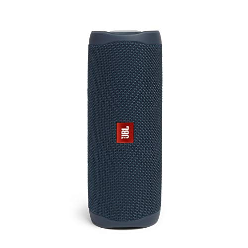 JBL Flip 5 Bluetooth Box in Blau – Wasserdichter, portabler Lautsprecher