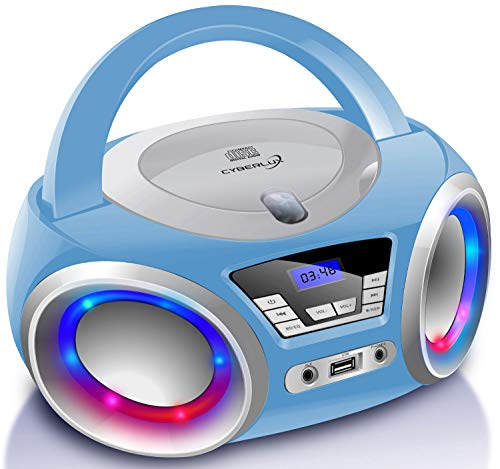 Cyberlux CD-Player mit LED-Beleuchtung | Kinder Radio