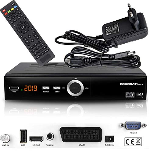 hd-line Echosat 20900 M Digital Satelliten Sat Receiver